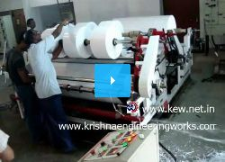 Krishna Engineering Works Slitting Rewinding Machine.mpg