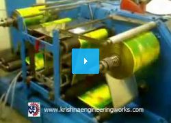 Krishna Engineering Works Winder Rewinder Machine with TTO.3gp